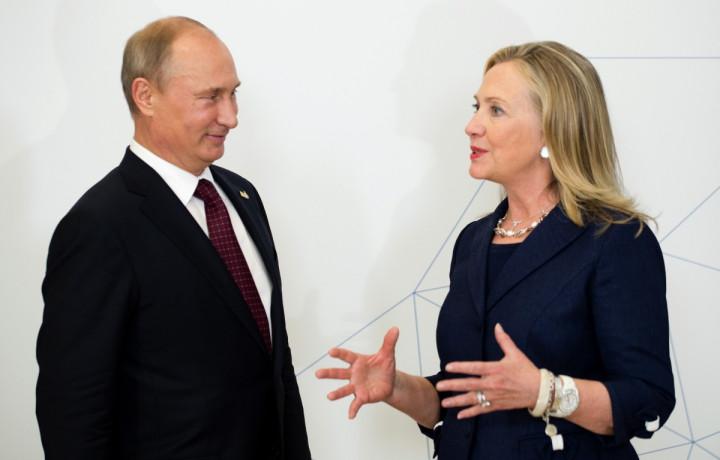 Clinton Putin Weak