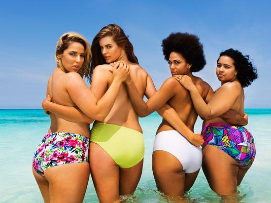 "Sports Illustrated ""plus sized"" models"
