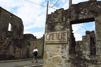 Oradour-sur-Glane cemetery
