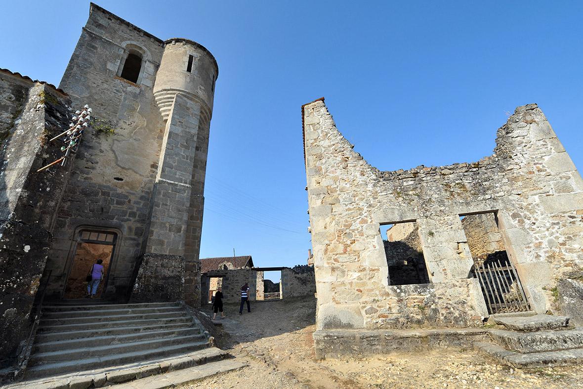 Oradour-sur-Glane church
