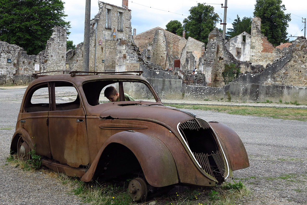 Town And Country Auto >> D-Day Anniversary: The Ghost Town of Oradour-sur-Glane, Scene of a Nazi Massacre