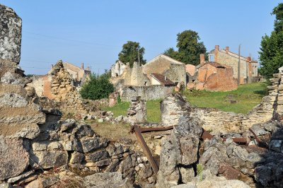 Oradour-sur-Glane ruins