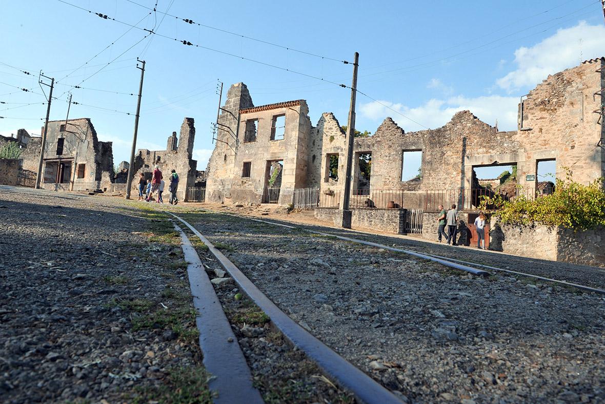 Oradour-sur-Glane railway tracks