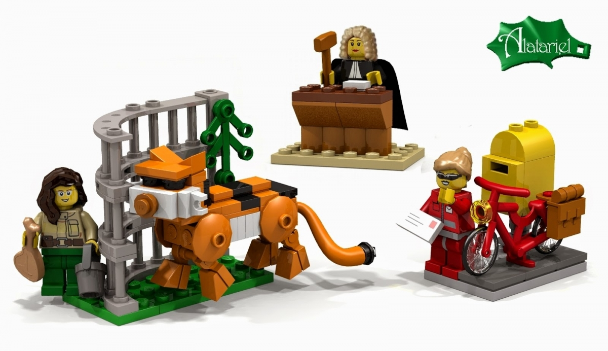 Dr Ellen Kooijman's other concepts for LEGO female professions