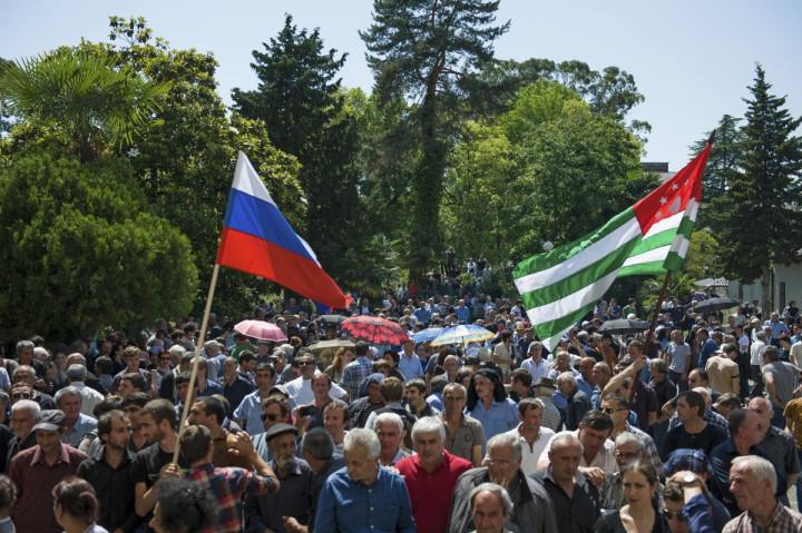 Abkhazia Ethnic Conflict Russia Breakaway Georgian Region