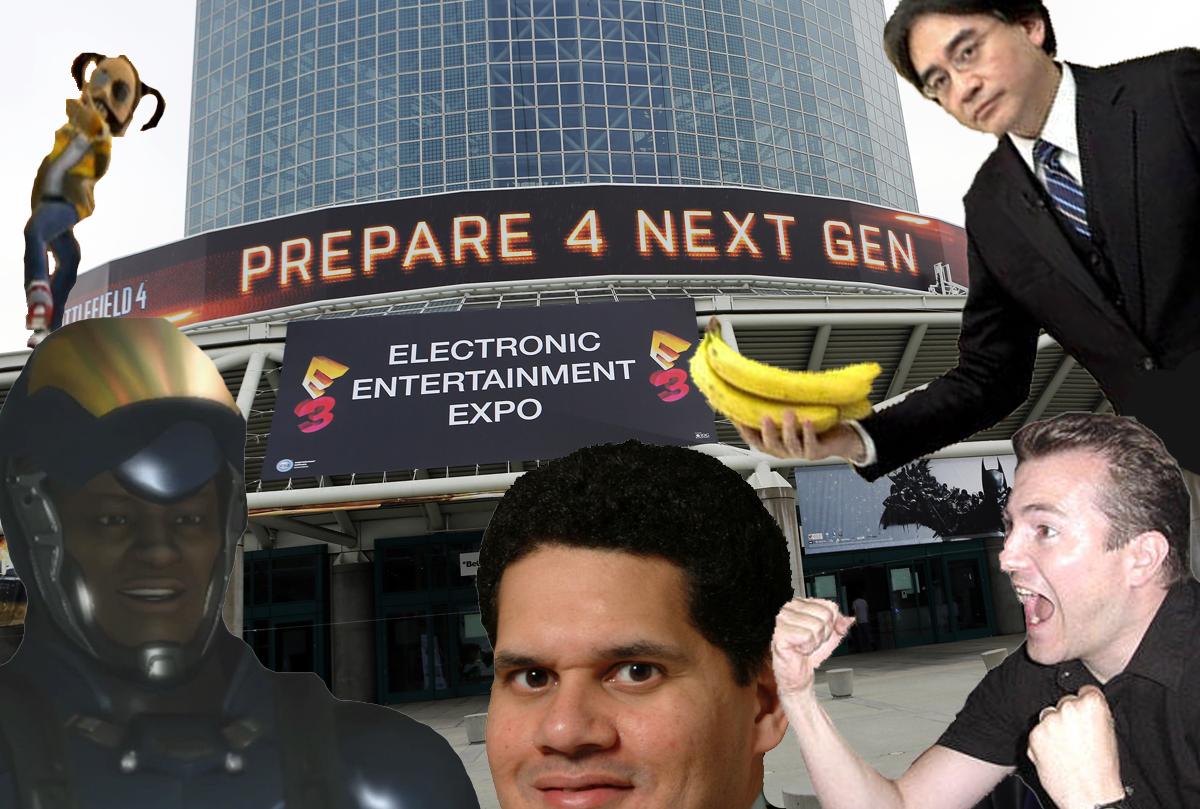 E3 2014 Seven Greatest Memes Of E3 History