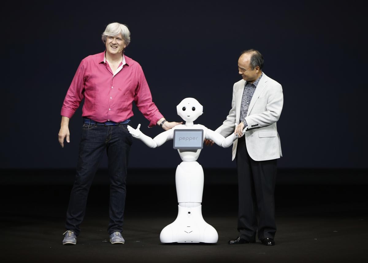 Pepper, a humanoid robot