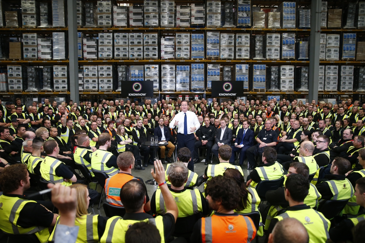 David Cameron and Workers