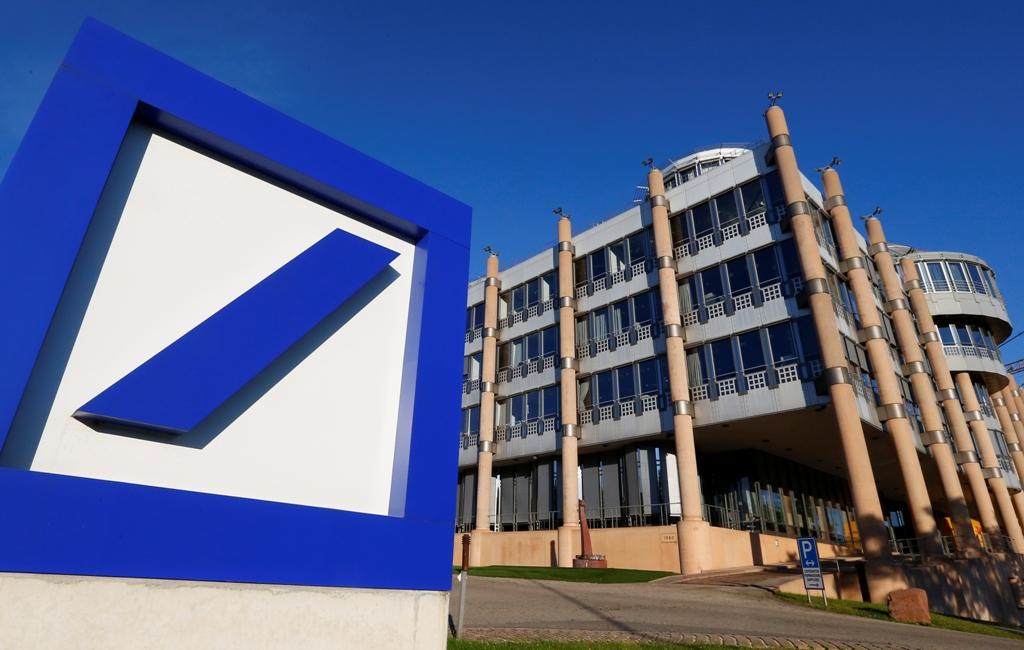 Deutsche Bank posts unexpected profit for fourth-quarter