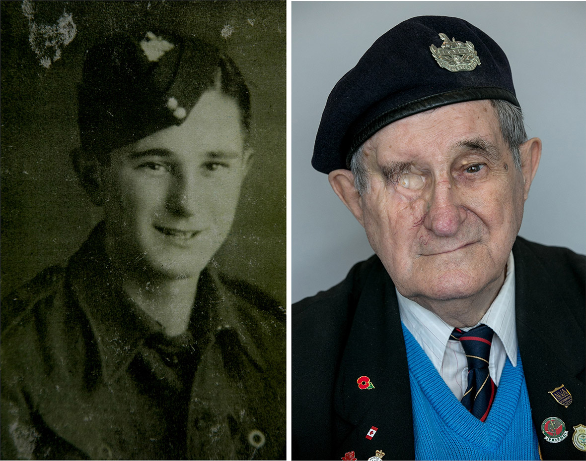 D-Day veterans then and now