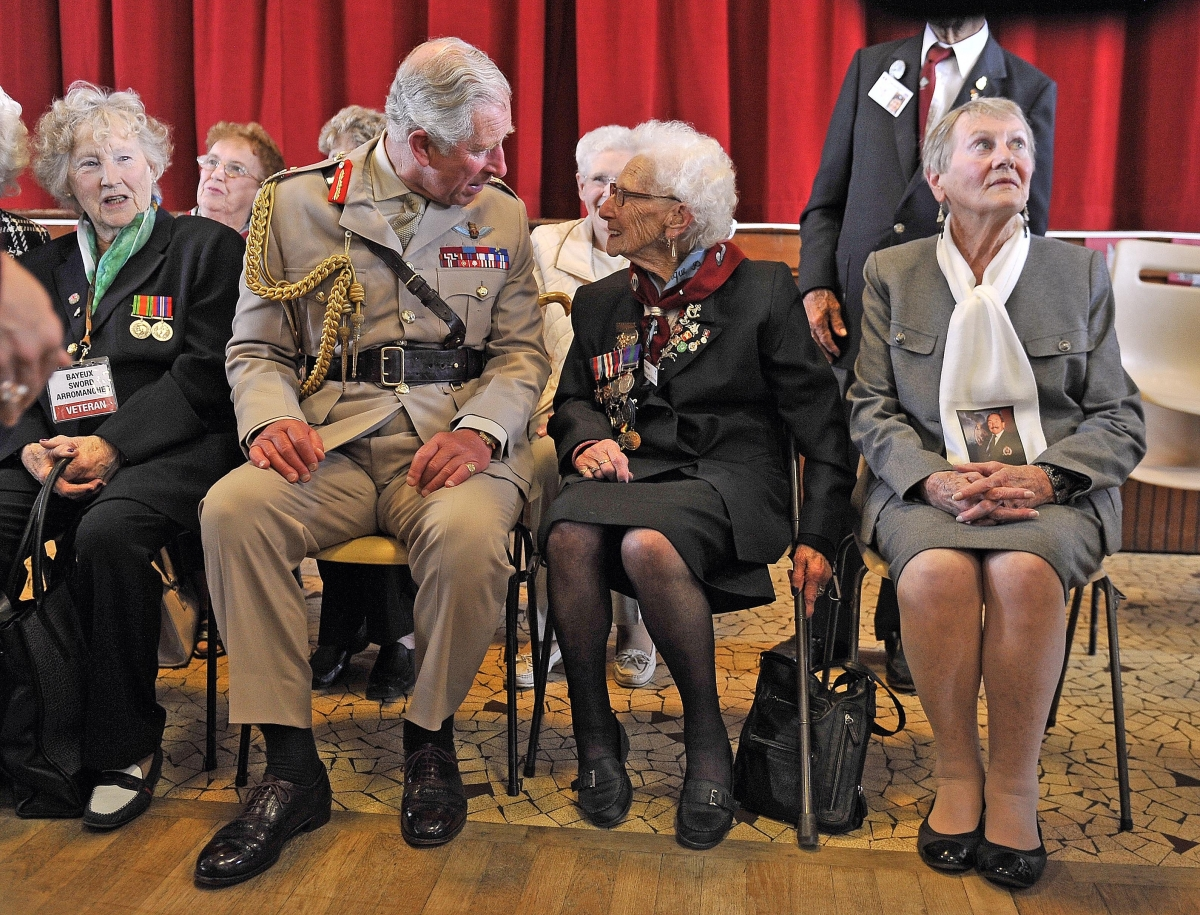 D-Day widows