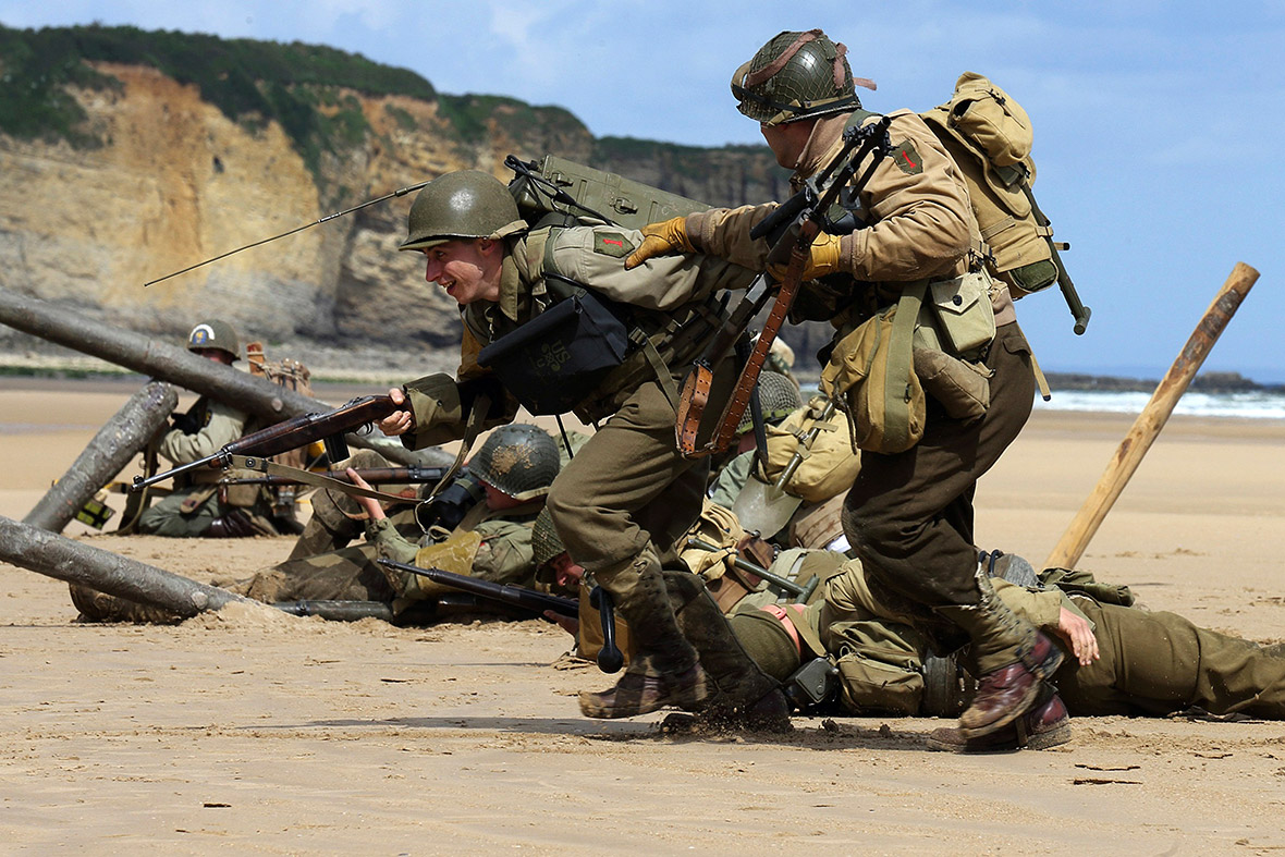 D-Day reenactment
