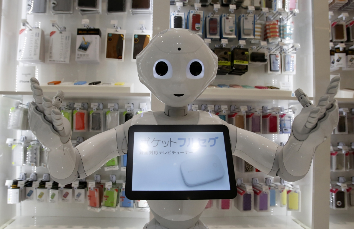 Pepper the Personal Robot Unveiled in Japan