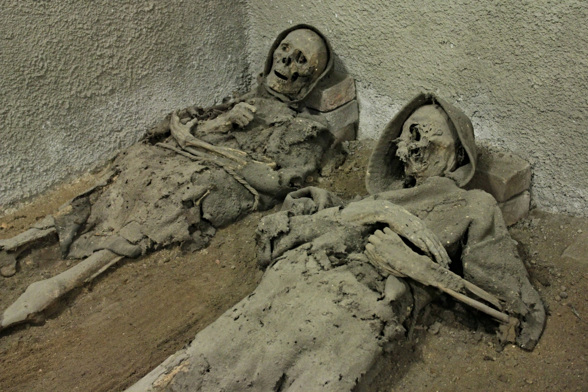 Monk mummies