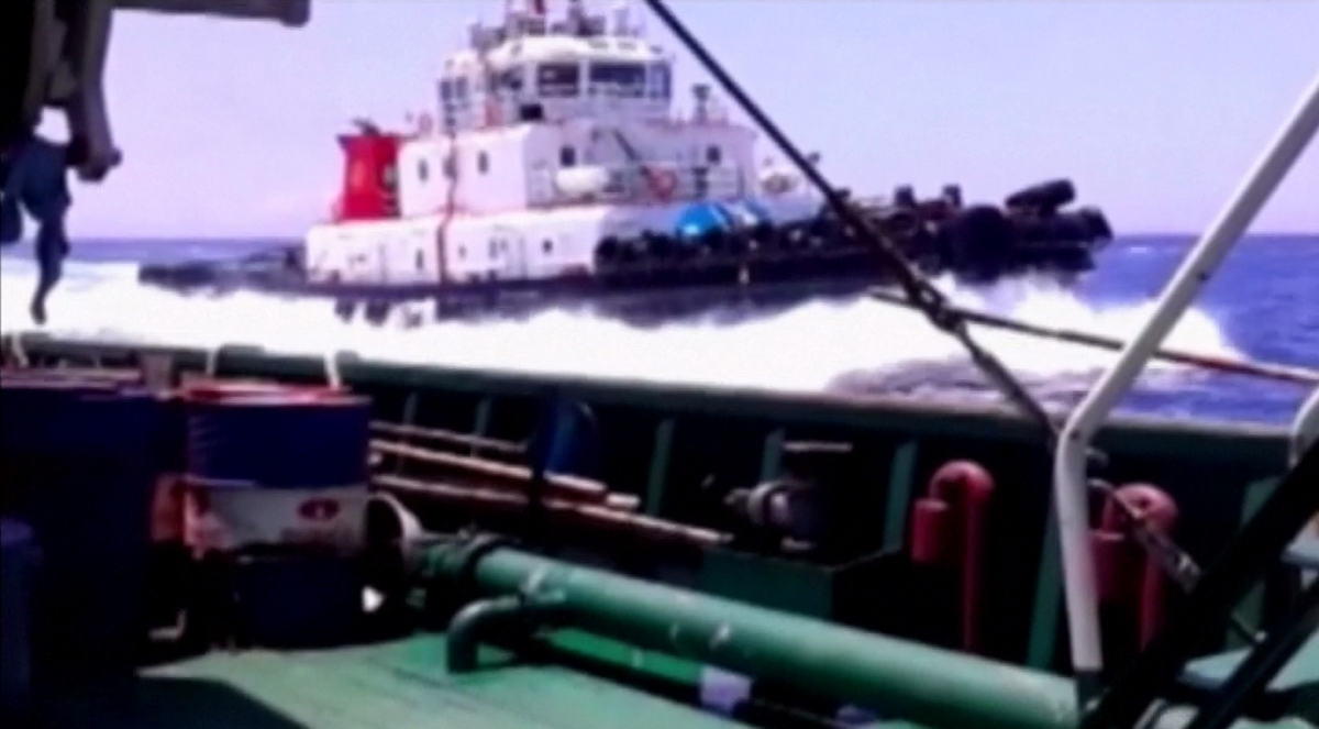 Vietnam Video Shows China Sinking Fishing Boat