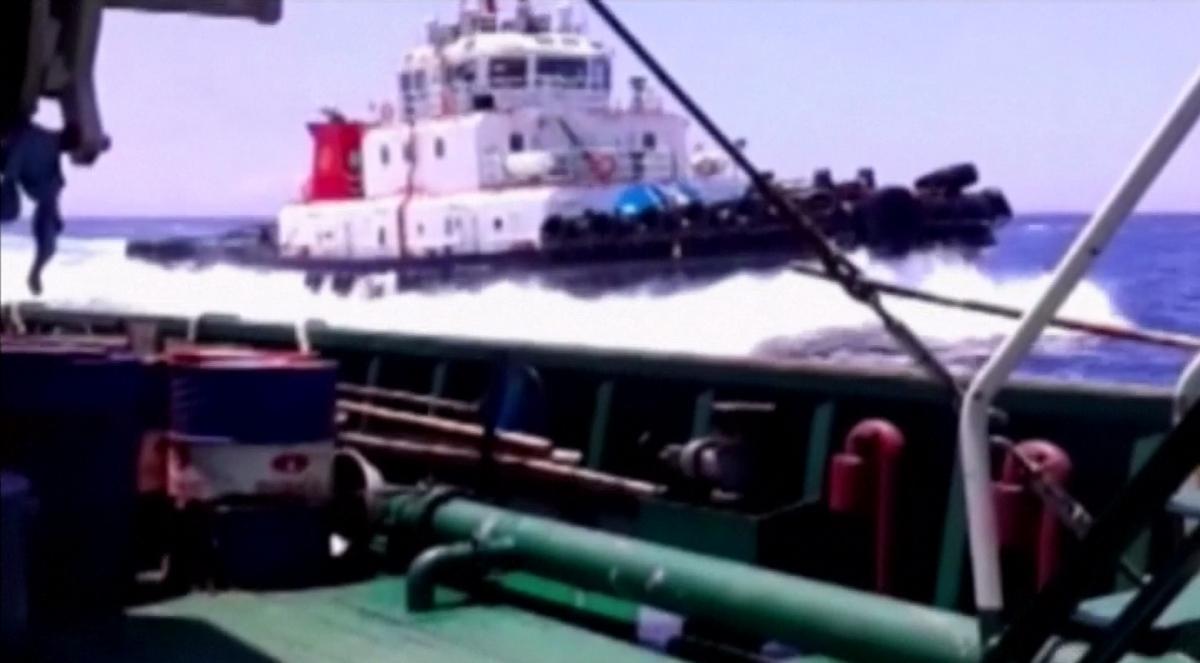 Vietnam Video Shows China Sinking Fishing Boat