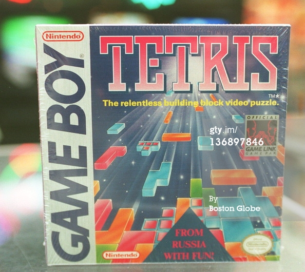 Tetris Game Boy cartridge