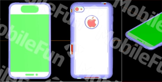 Alleged iPhone 5 Design Drawing