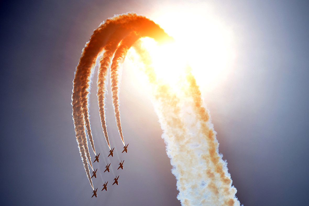 d-day red arrows