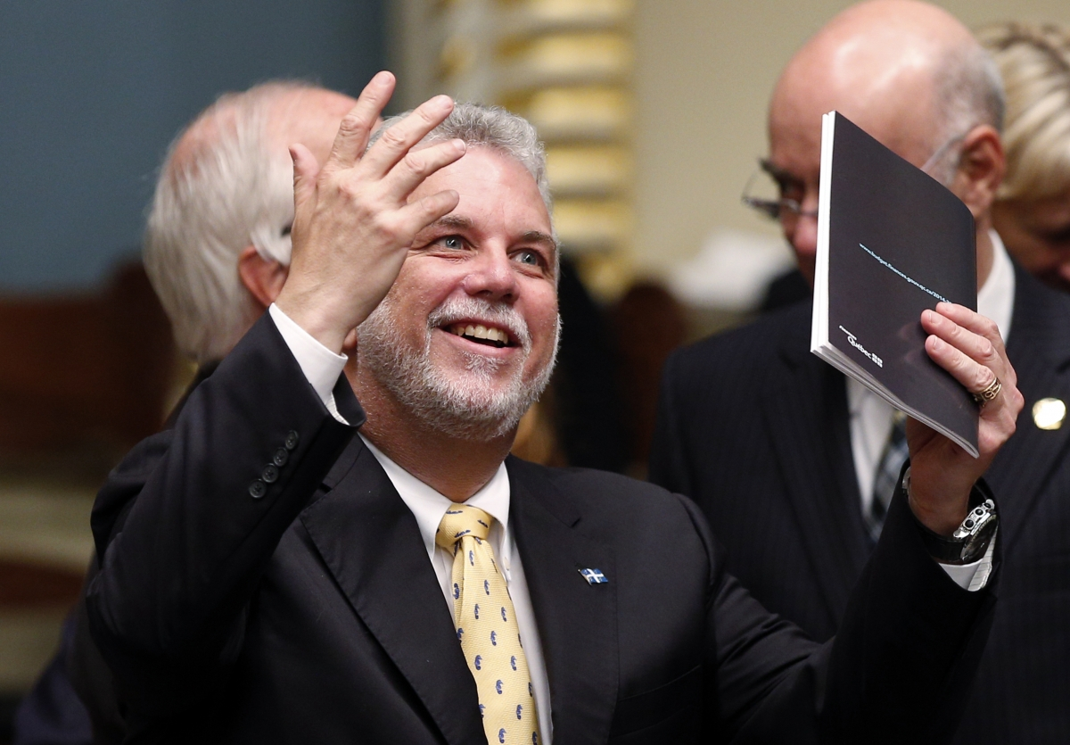 Philippe Couillard Quebec Right-to-Die