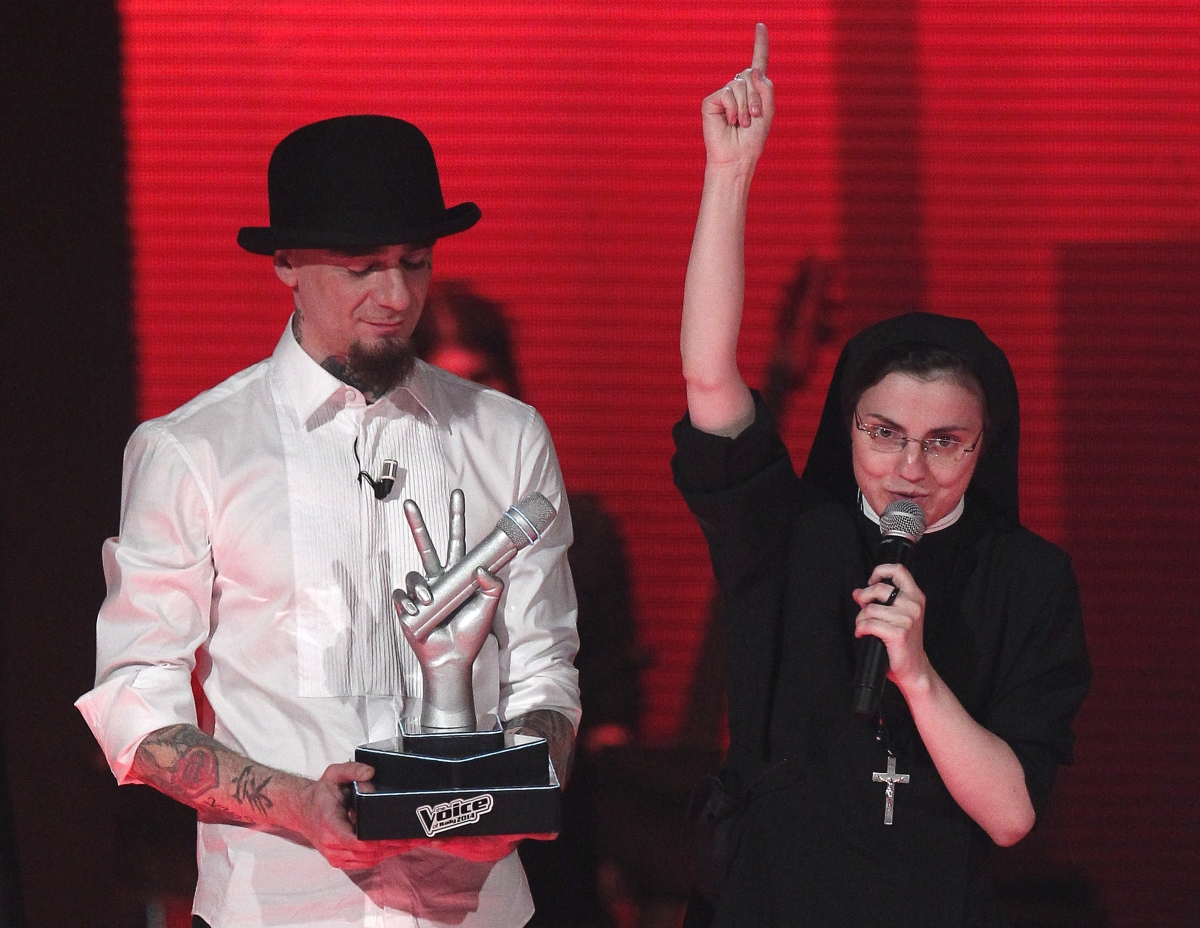 Italian Singing Nun Suor Cristina Wins The Voice