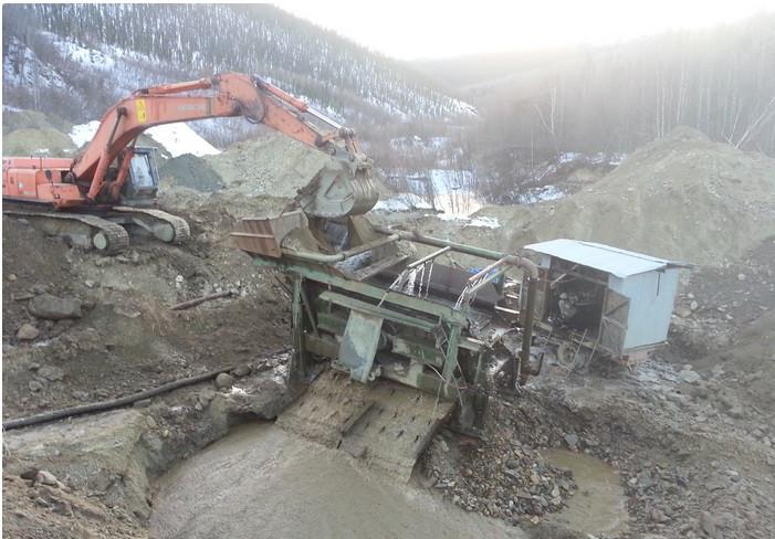 Canadian gold mine