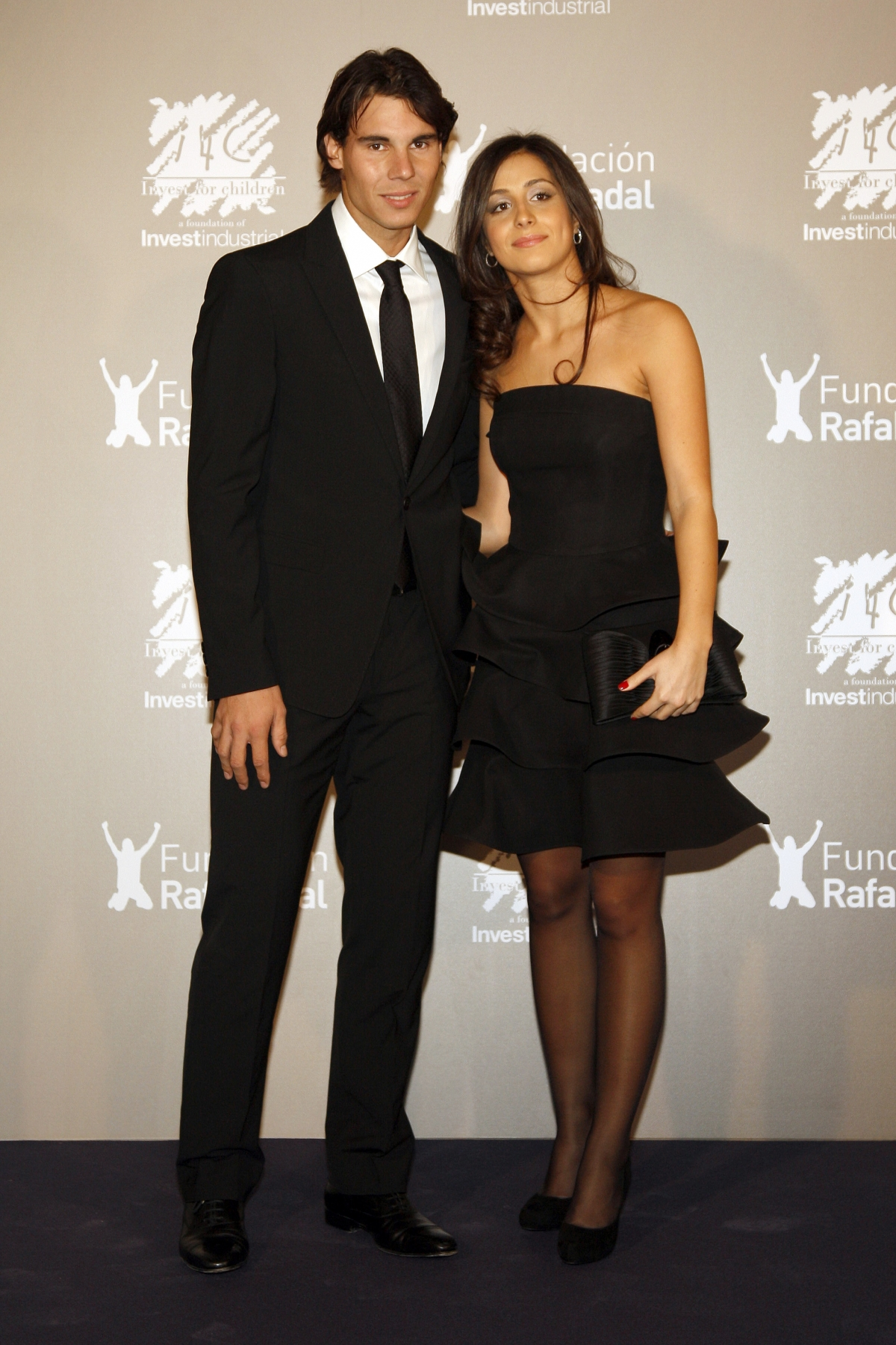 Ndal and Perello attend charity function in Madrid last year. (getty)