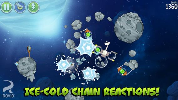 Angry Birds Space Enhanced With Beak Impact: Download Now