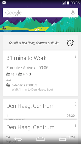 New Google Feature Wakes You Up Just In Time To disembark