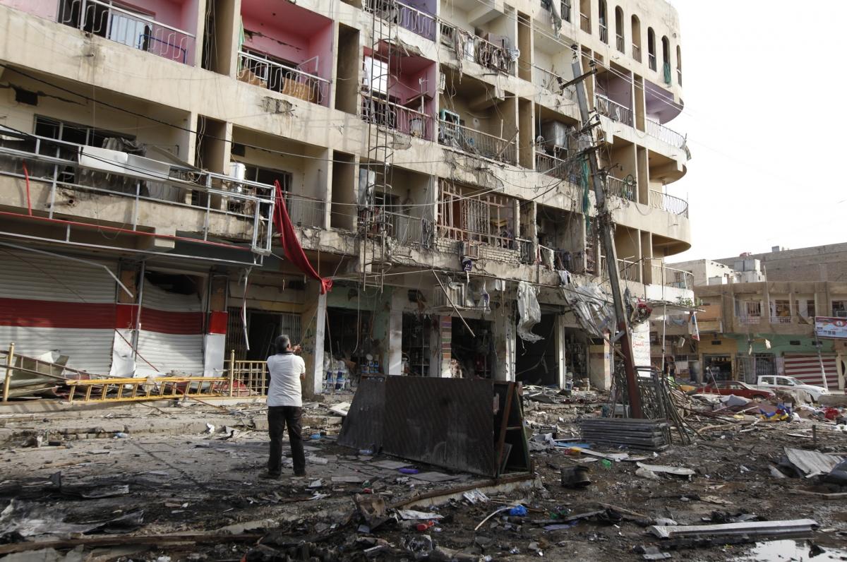 Wave of Car Bombs Rips through Baghdad Killing Dozens