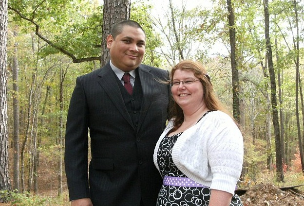 David Rodriguez and his wife Christina Harper both face multiple charges including human trafficking and false imprisonment.