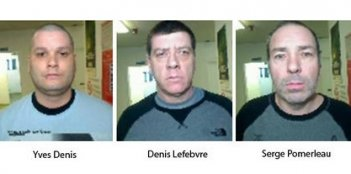 Images of the escaped prisoners.