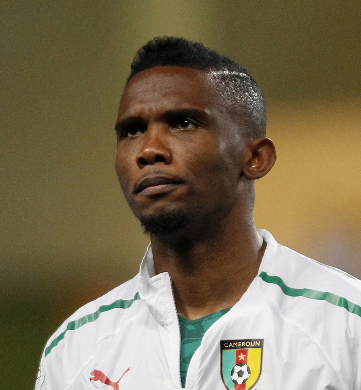 Cameroon forward Samuel Eto'o (Reuters)