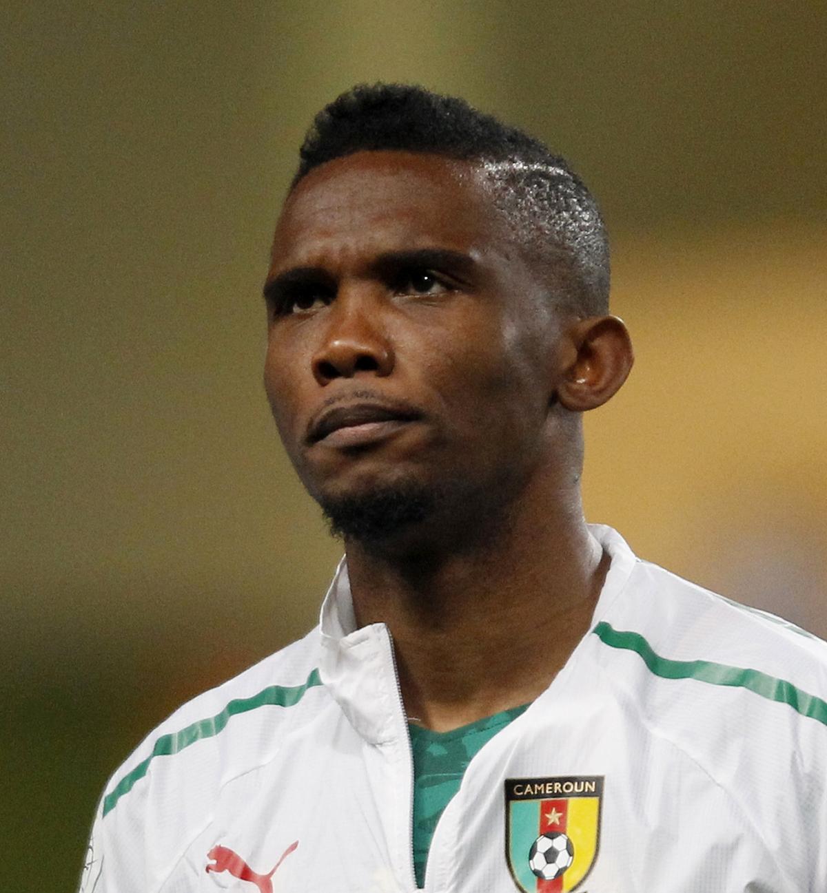 Cameroon forward Samuel Eto'o (Reuters)