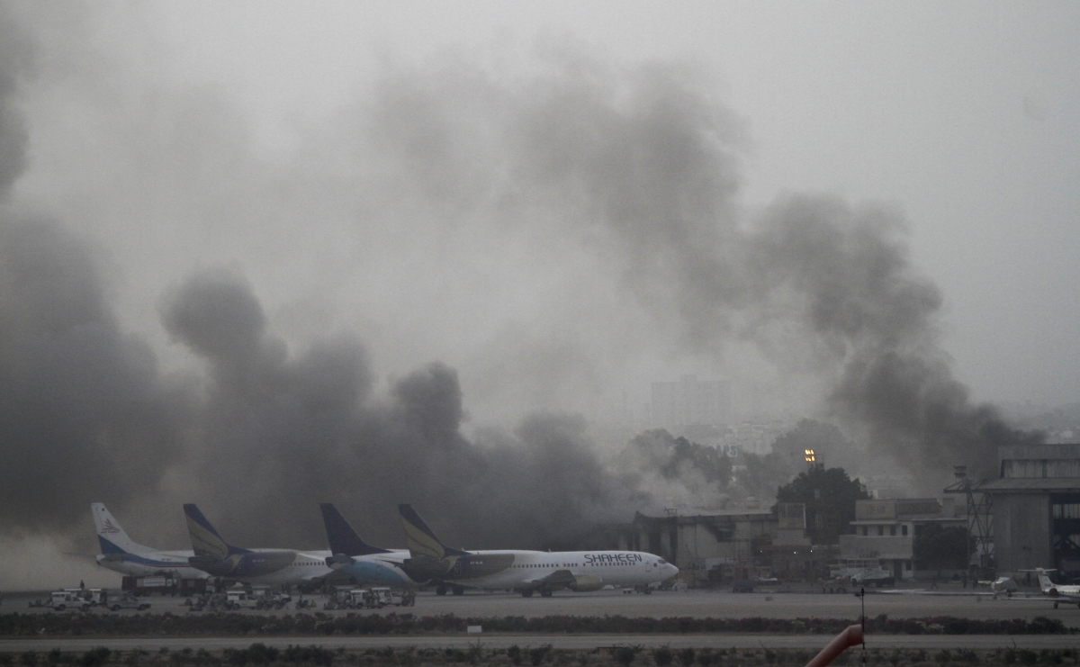 Karachi airport attack June 9, 2014