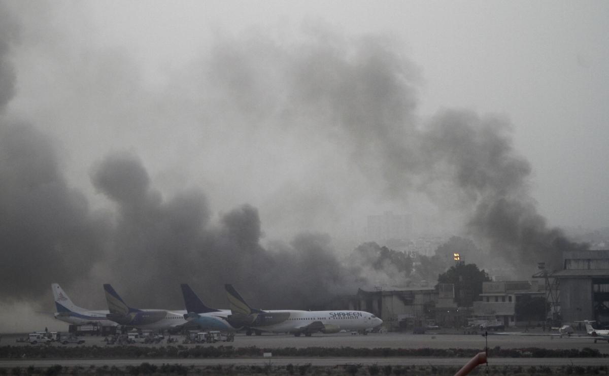 Karachi airport attack June 9, 2014