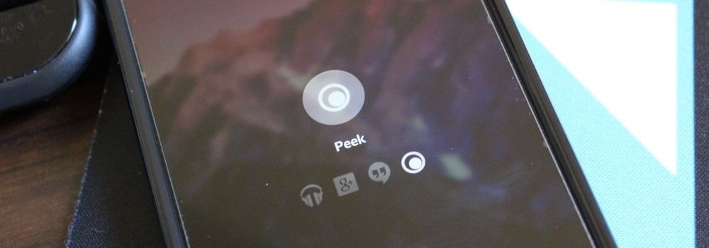 Peek ap for android