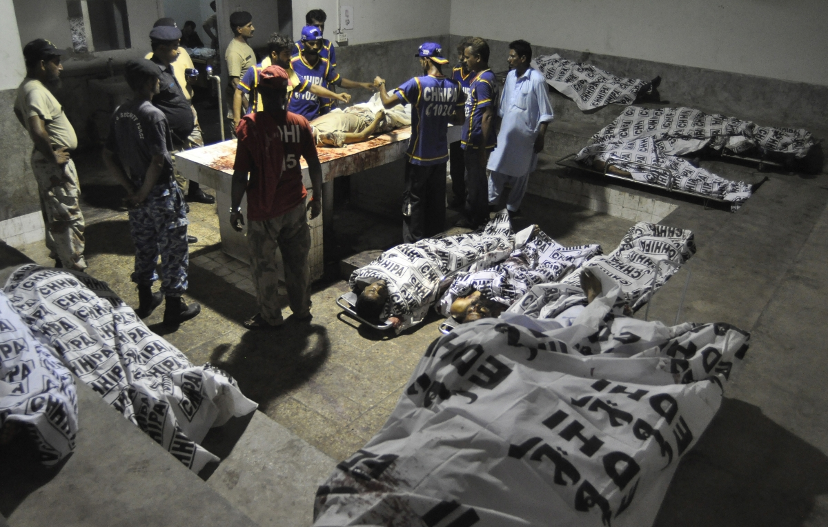 Taliban Karachi airport attack in Pakistan