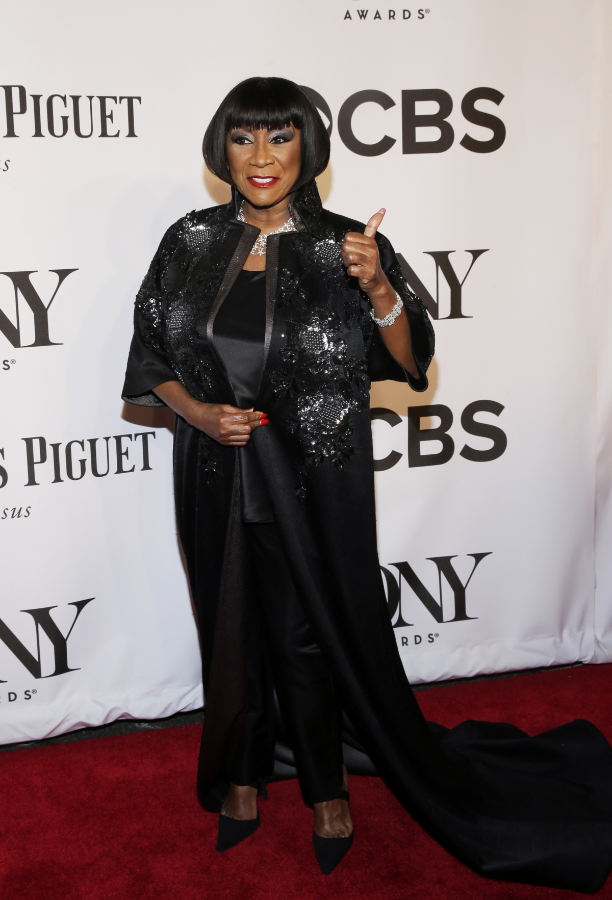 Singer Patti Labelle arrives for the American Theatre Wing's 68th annual Tony Awards at Radio City Music Hall in New York, June 8, 2014.
