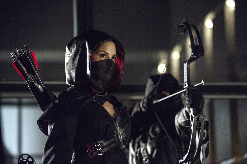 Nyssa Raatko in Arrow Season 2