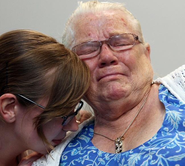 Winnie Johnson, the mother of Keith Bennett,
