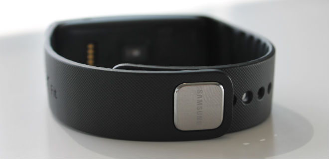 Samsung Gear Fit Review Strap