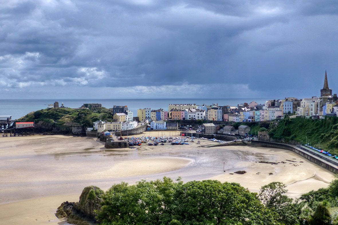 Tenby Harbour Bridge
