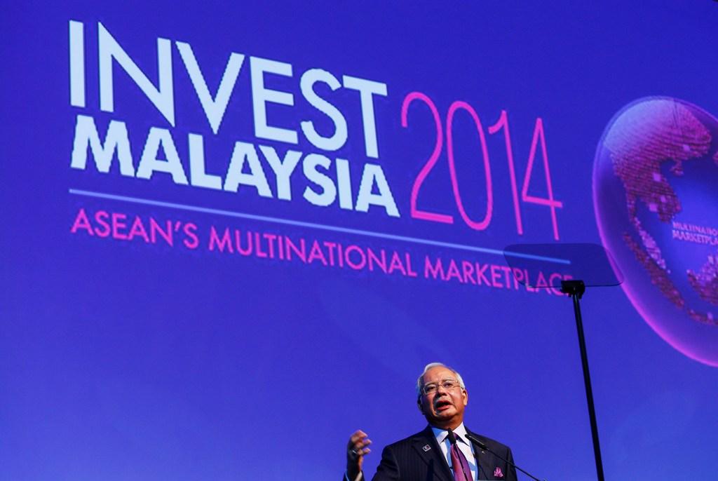 Malaysia: PM Najib Razak Announces Measures to Lure Investors