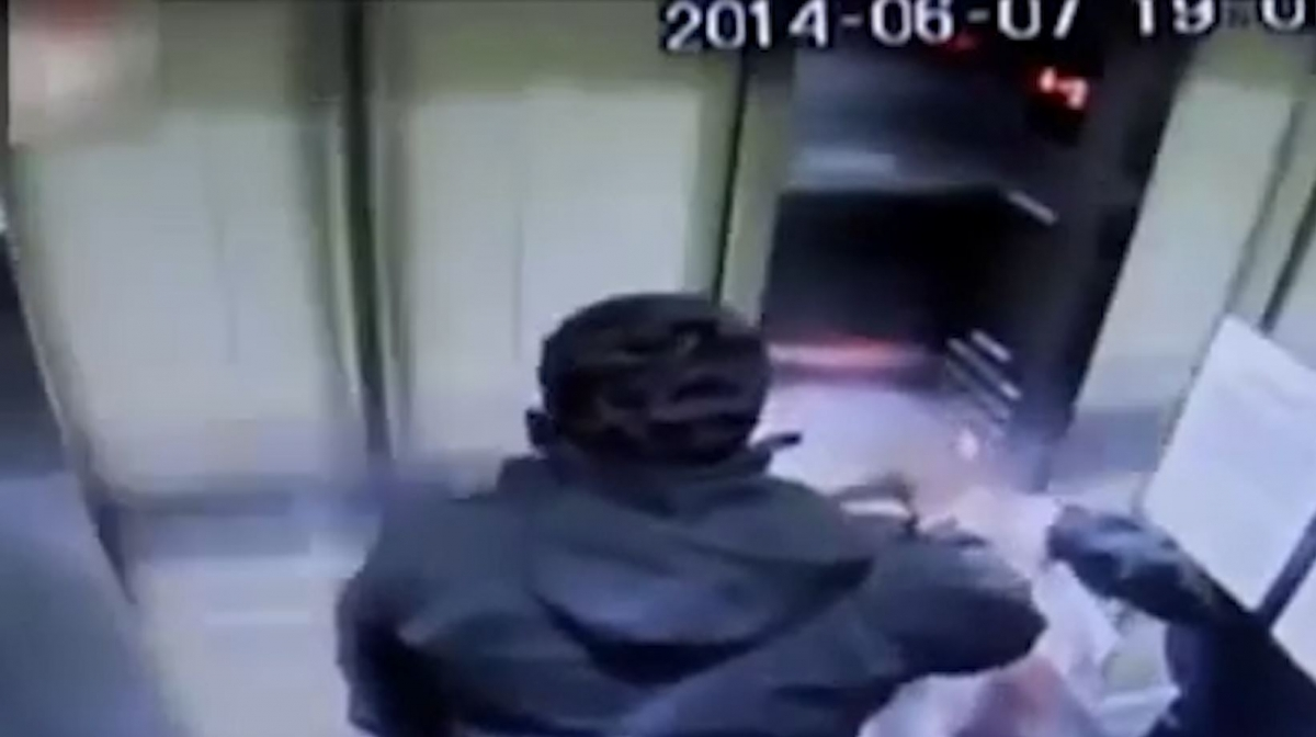 Malfunctioning Lift Crashes into Roof at 80kmh