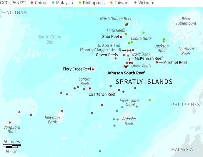 Spratly Islands ,