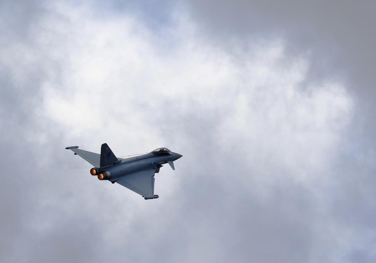 Jet Crash Spain