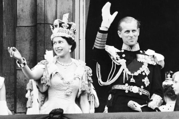 coronation Queen Elizabeth II prince philip