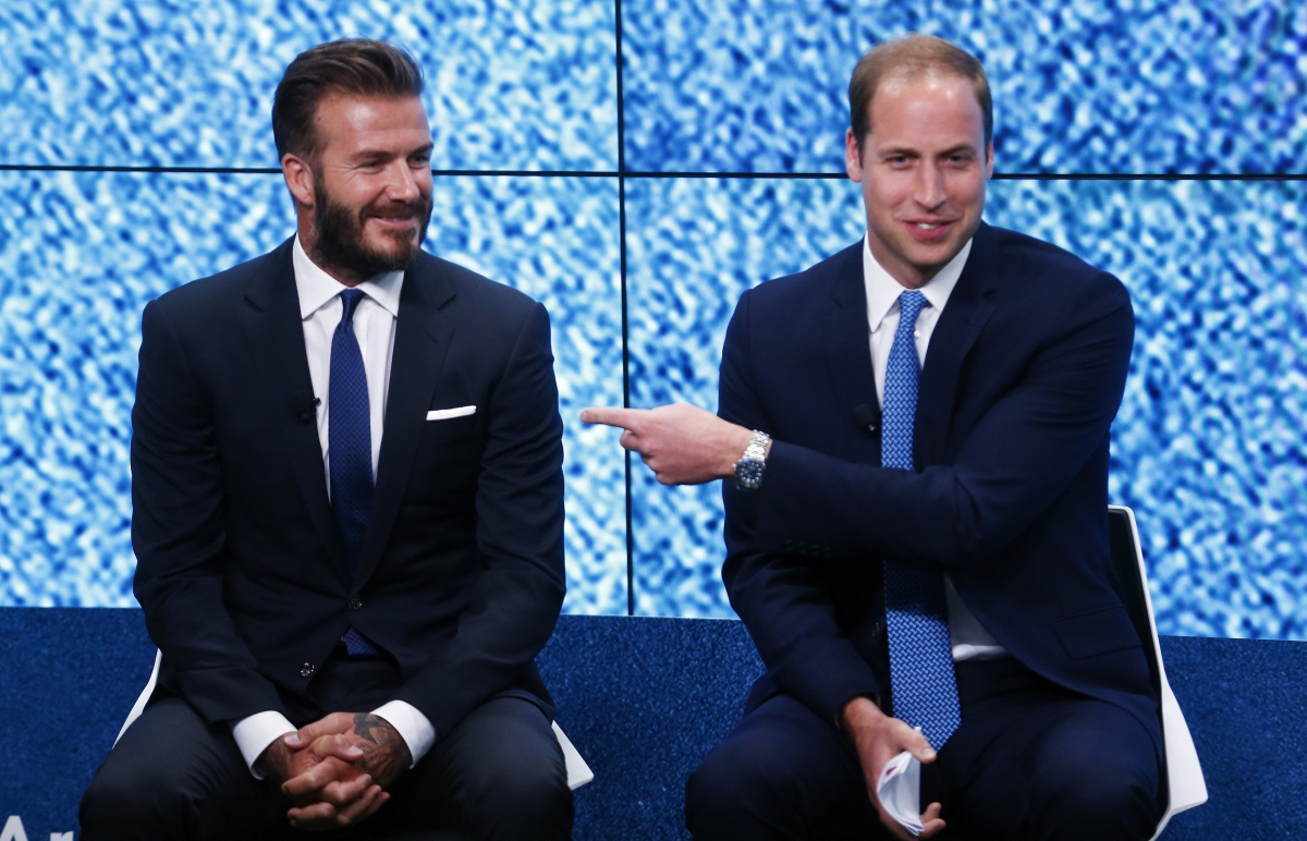David Beckham, Prince William