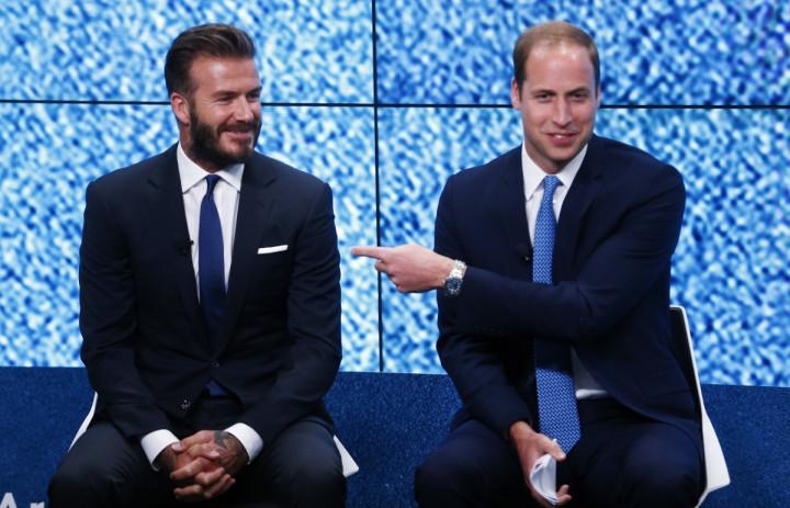 David Beckham, Prince William